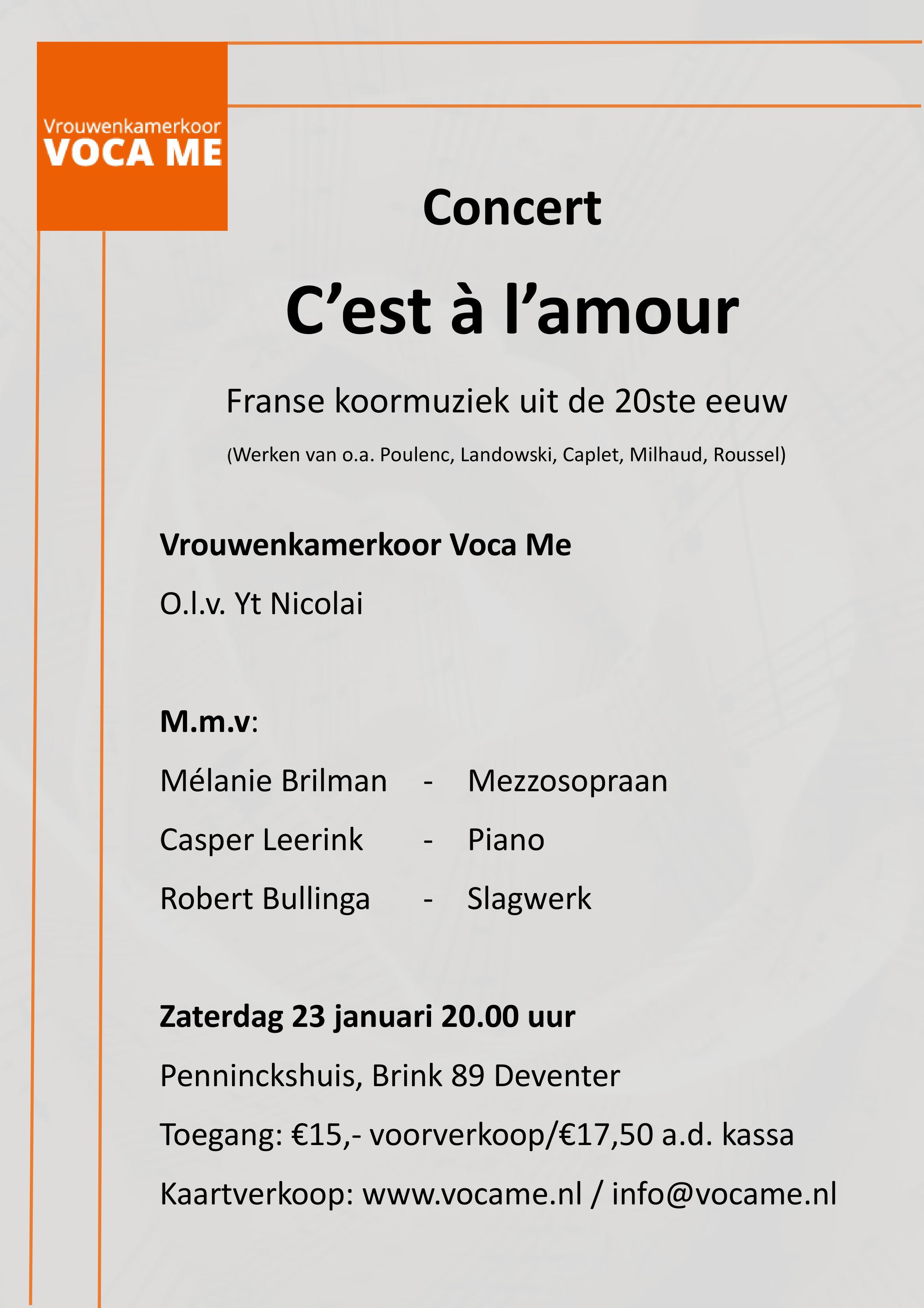 concert oranjekerk amsterdam